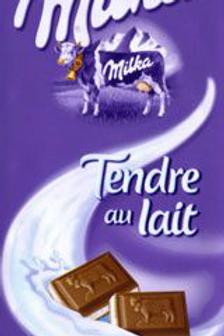 Tablette Tendre au lait 4 x 100 g Milka