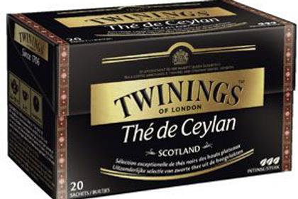 Thé de Ceylan Scotland 20 sachets Twinings
