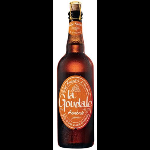 Bière ambrée 7.2° 75 cl La Goudale