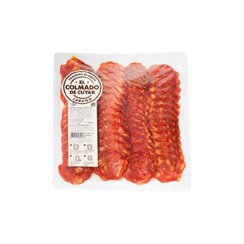 Chorizo ibérique tranche 150 g Cuyar Jabugo