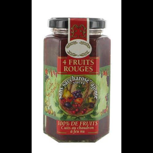 Confiture 4 fruits rouges 300 g Lucien georgelin