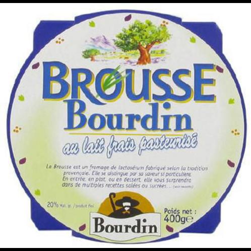 Brousse fraîche 400 g Bourdin