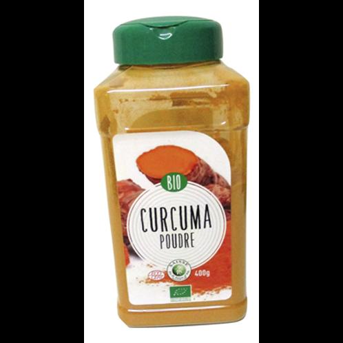 Curcuma poudre Bio pot 400 g Saisse et Fils