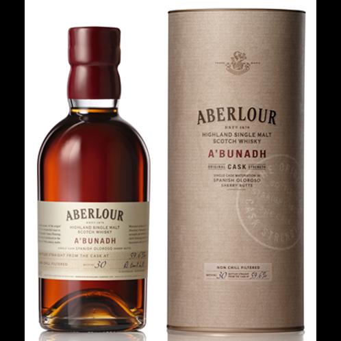 Whisky Aberlour A'bunadh 60.7° 70 cl
