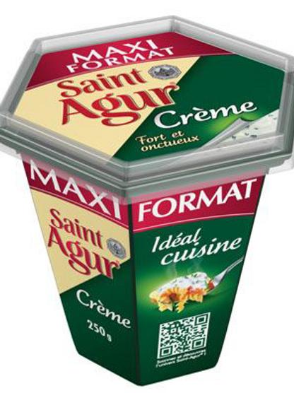 Saint-Agur Crème maxi format 250 G