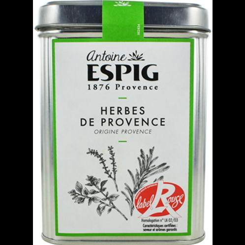 Herbes de Provence Label Rouge 130 g Antoine Espig