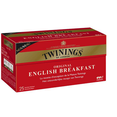Thé English Breakfast 25 sachets Twinings