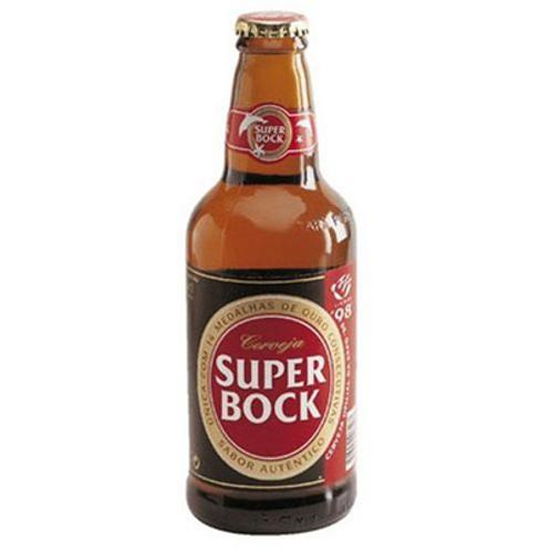 Bière ambrée 5.2° 24X25 cl Super Bock