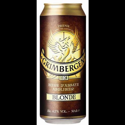 Bière blonde 6.5° 24X50 cl Grimbergen