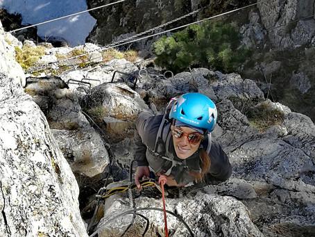 Via ferrata dels Clots de l´Aspra iniciación en montaña