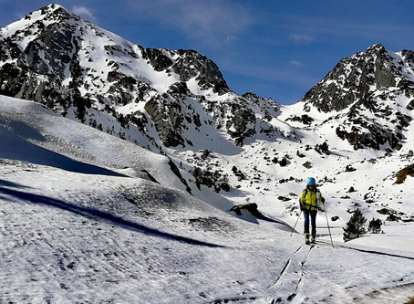 Tour de la Sabine en esquí de montaña