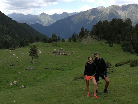 Randonnée circulaire au Coll d'Arenes en Andorre avec un guide de montagne