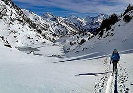 Ski de randonnéeàTristaina