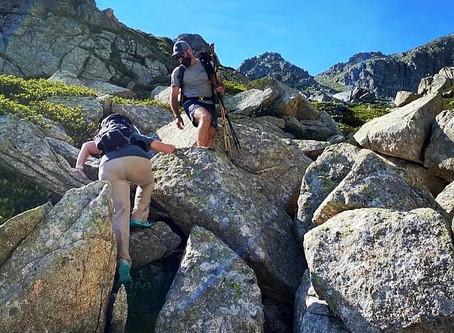 Pic Negre d´Envalira con un guia de montaña:
