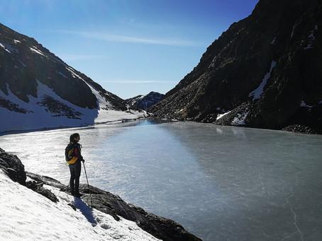 Pic de Sanfons avec un guide de montagne.
