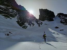 Ski de randonnée autour du pic de Siscaro