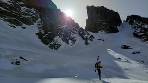 Circular en esquí de montaña al pic de Siscaro.