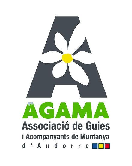 Logo de l'association des guides et des accompagnateurs en montagne d' andorre