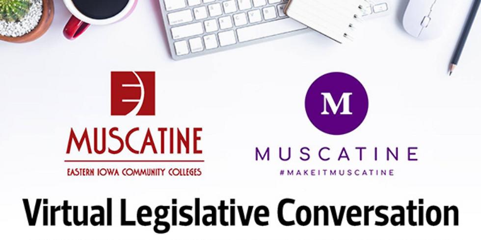 Muscatine Virtual Legislative Conversation