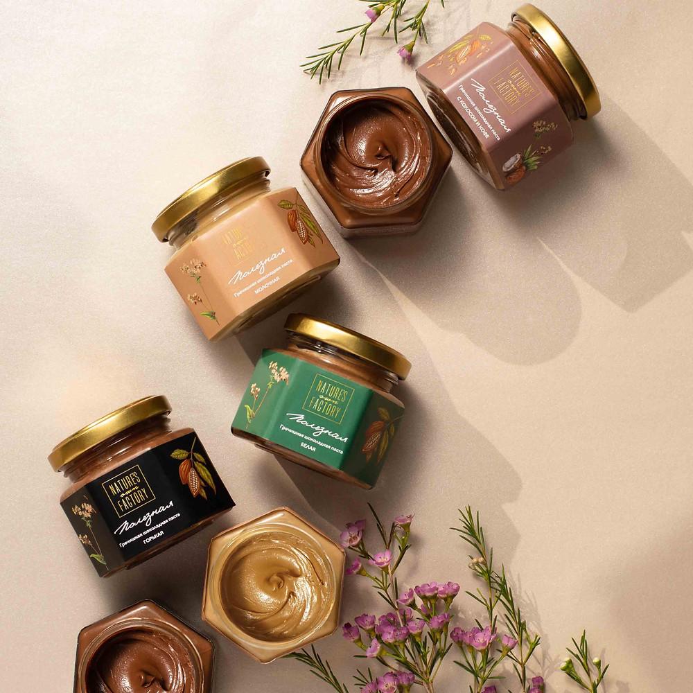 шоколадная гречишная паста nature's own factory