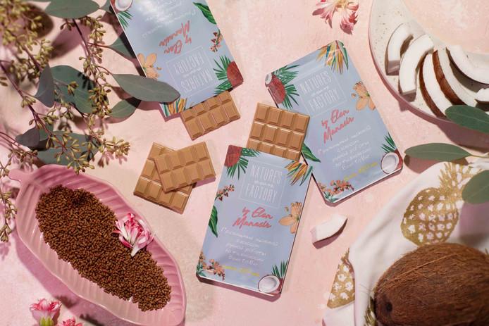 Новый вид шоколада от Элен Манасир