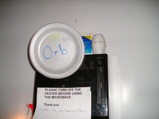 Orb in Kitchen