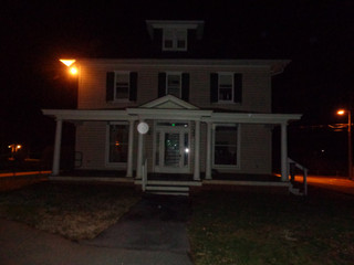 House front with orb