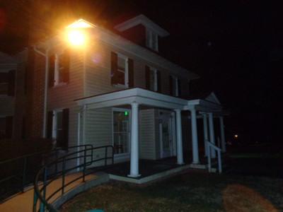 Holt House, left side
