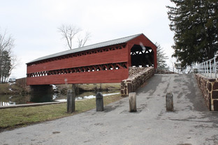 Mysterious Covered Bridge