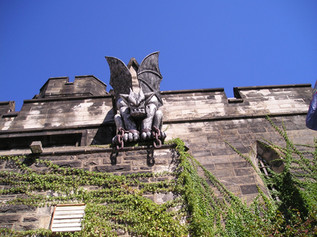 Gargoyle above Entrance