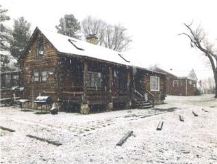 Cabin 360 in Snow