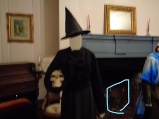 Something in the Fireplace?