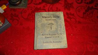 Waverly Hills Patient Register