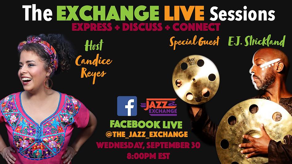 The Exchange Lives Sessions E.J. Flyer.p