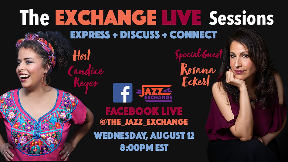 The Exchange Lives Sessions Rosana Flyer