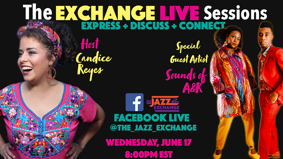 Exchange Live Sessions Sounds A&R Flyer.