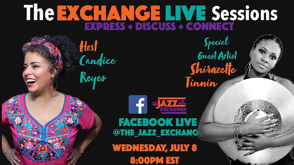 Exchange Live Sessions  Shirazette Flyer