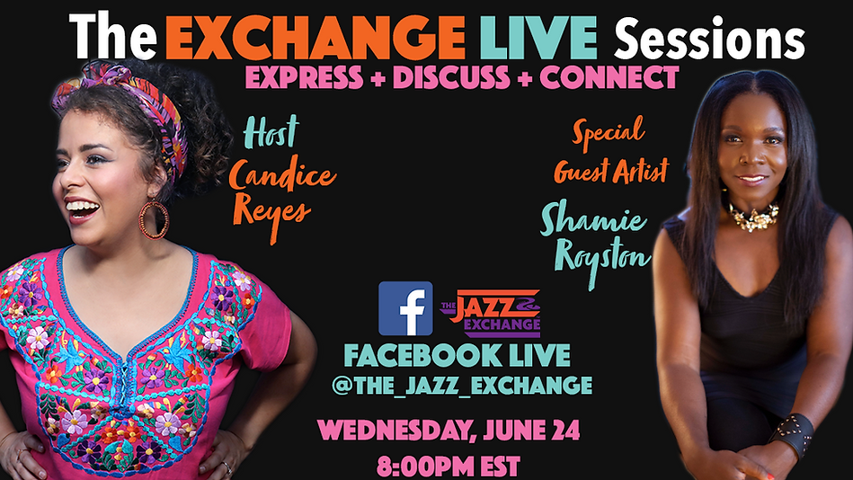 Exchange Live Sessions Shamie Flyer.png