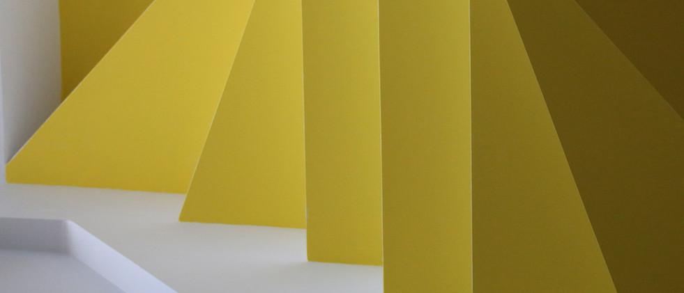 Gelbe Treppen