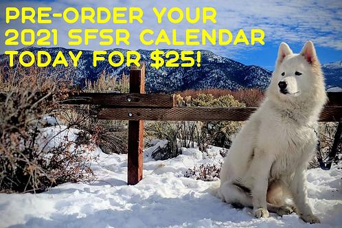 2021 SF Samoyed Rescue Calendar