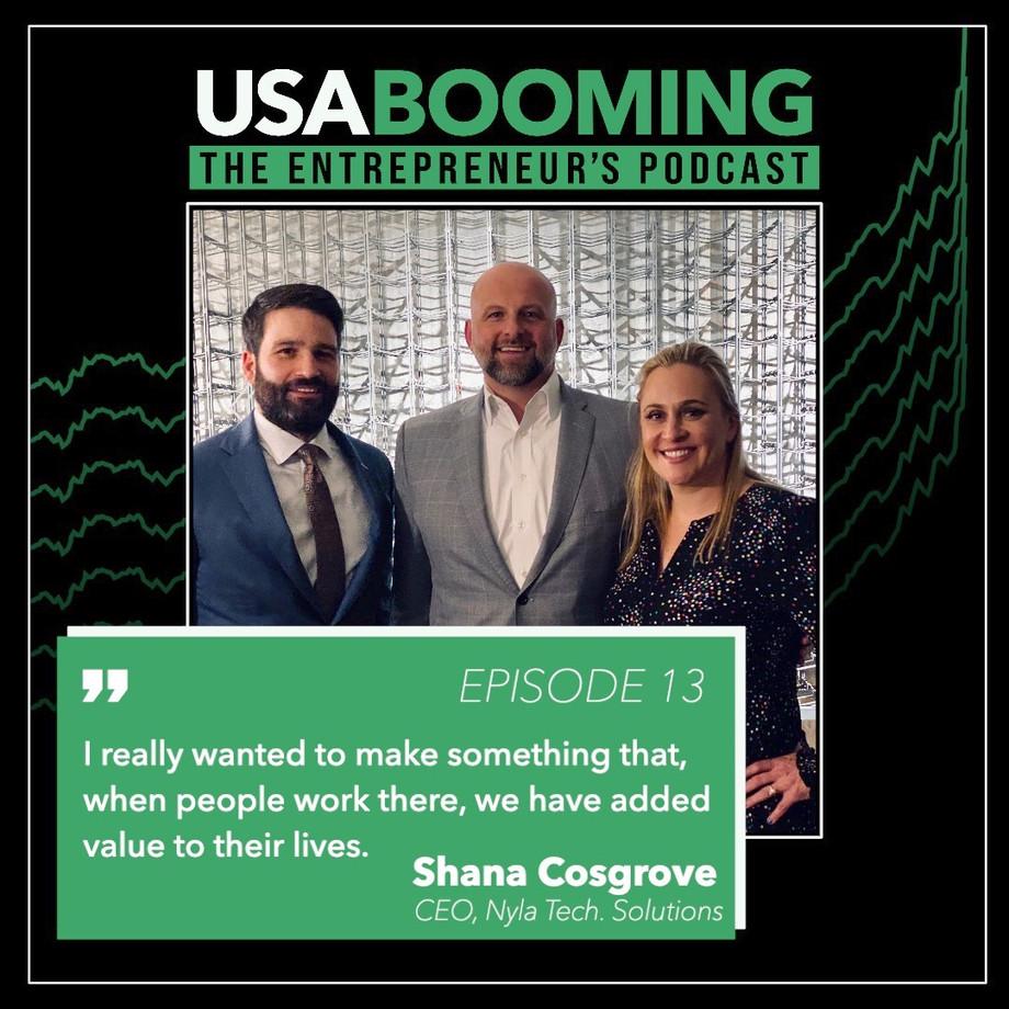 Nyla Technology Solutions founder, Shana Cosgrove