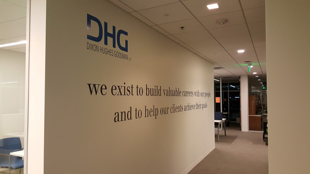 Mission Statement Wall Graphics Charlotte NC