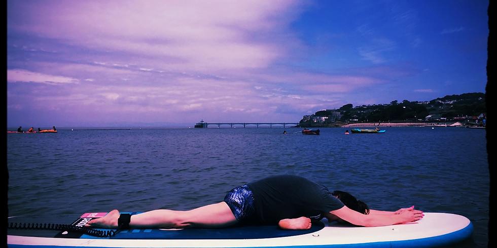 YOGA ON WATER! - Marlens Lake, Clevedon