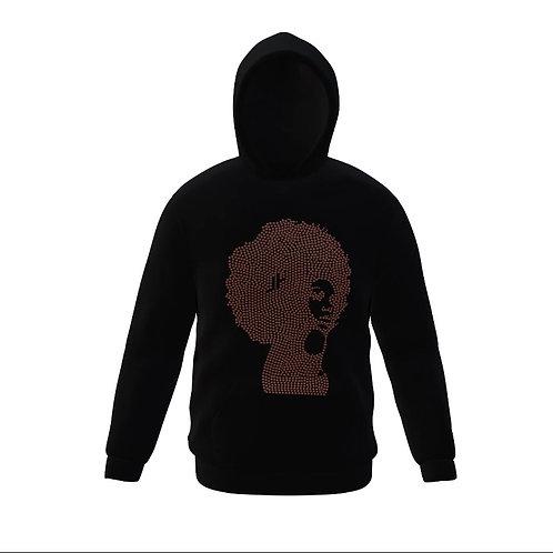 J.Reid® Black Herstory Hoodie (Black)