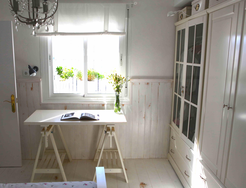 escritorio en dormitorio