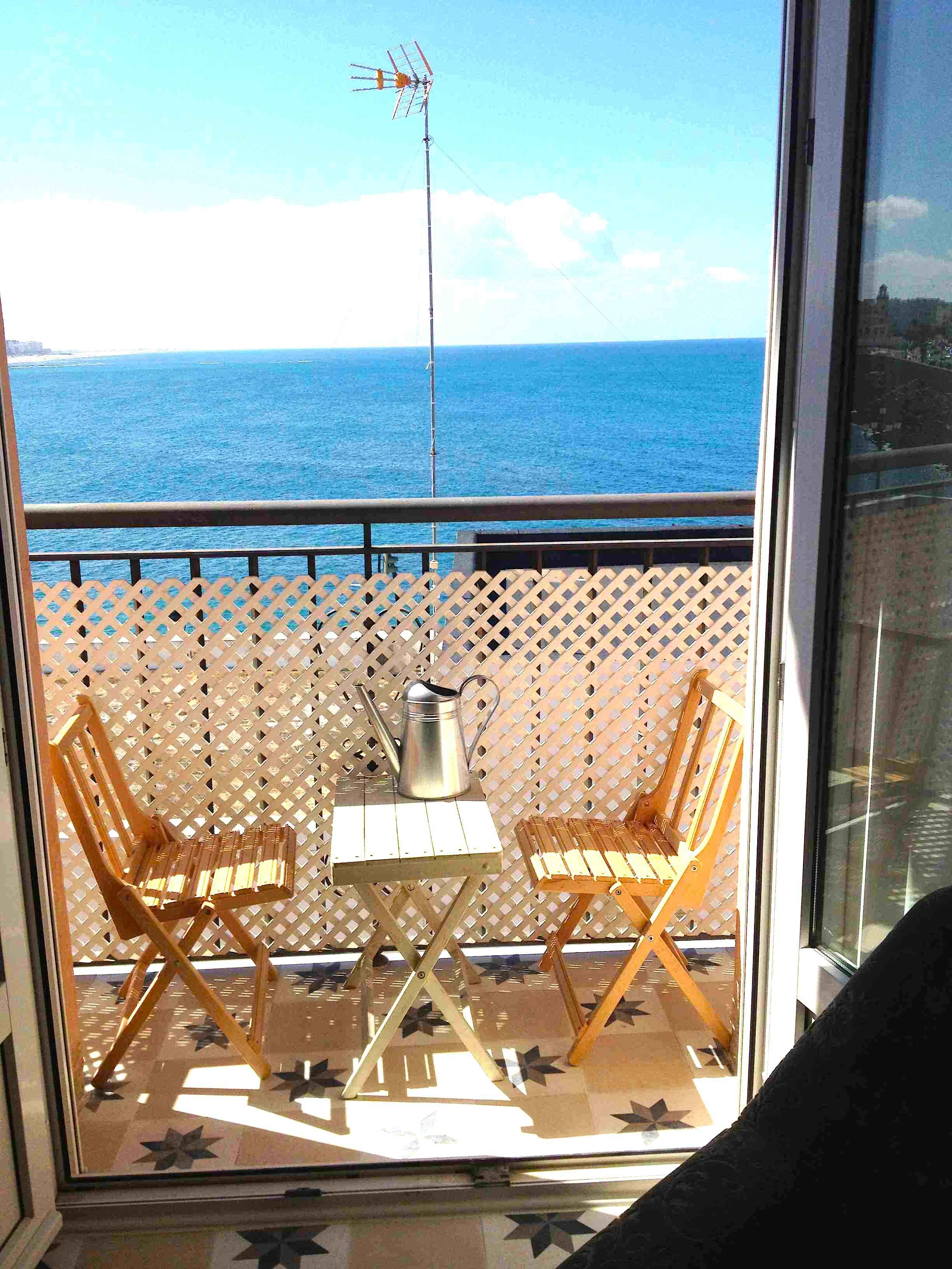 1 de los 4 balcones