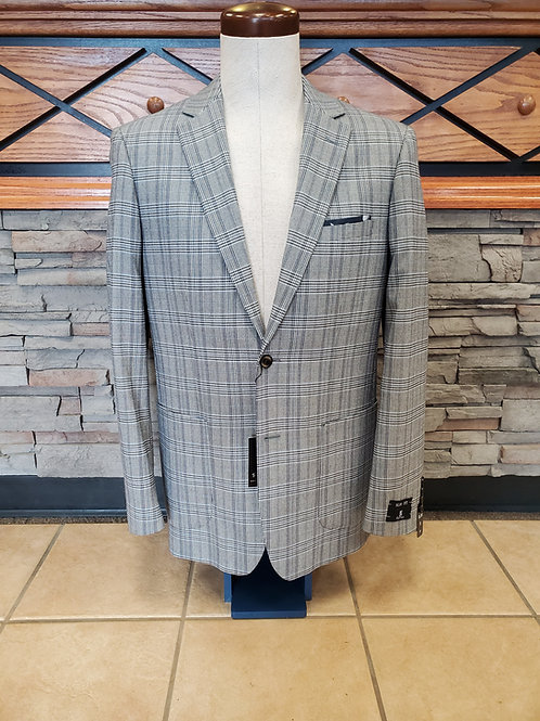 Renoir Sport Coat (Grey Plaid)