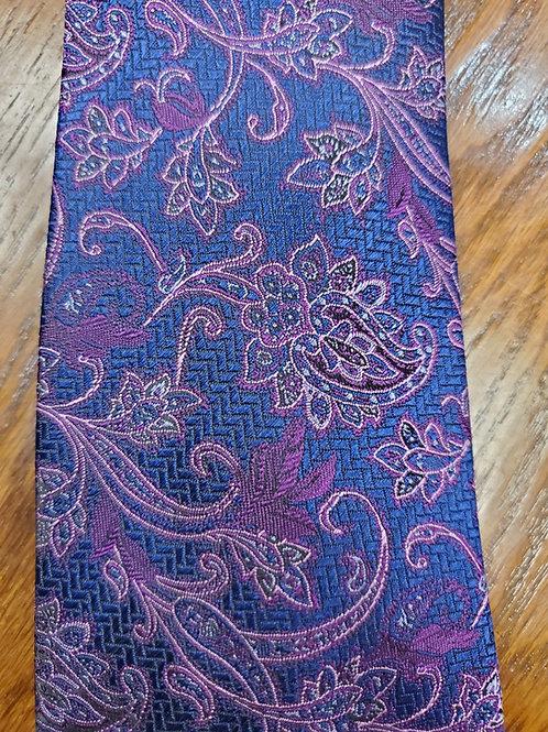 Hörst Tie (Purple and Blue)