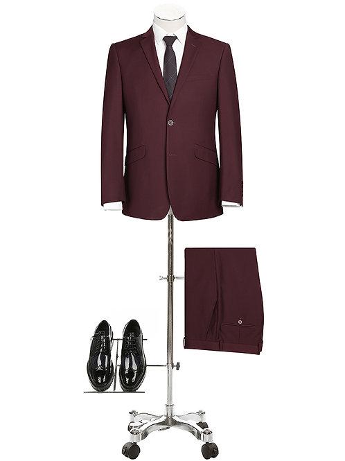 Renoir Burgundy Suit