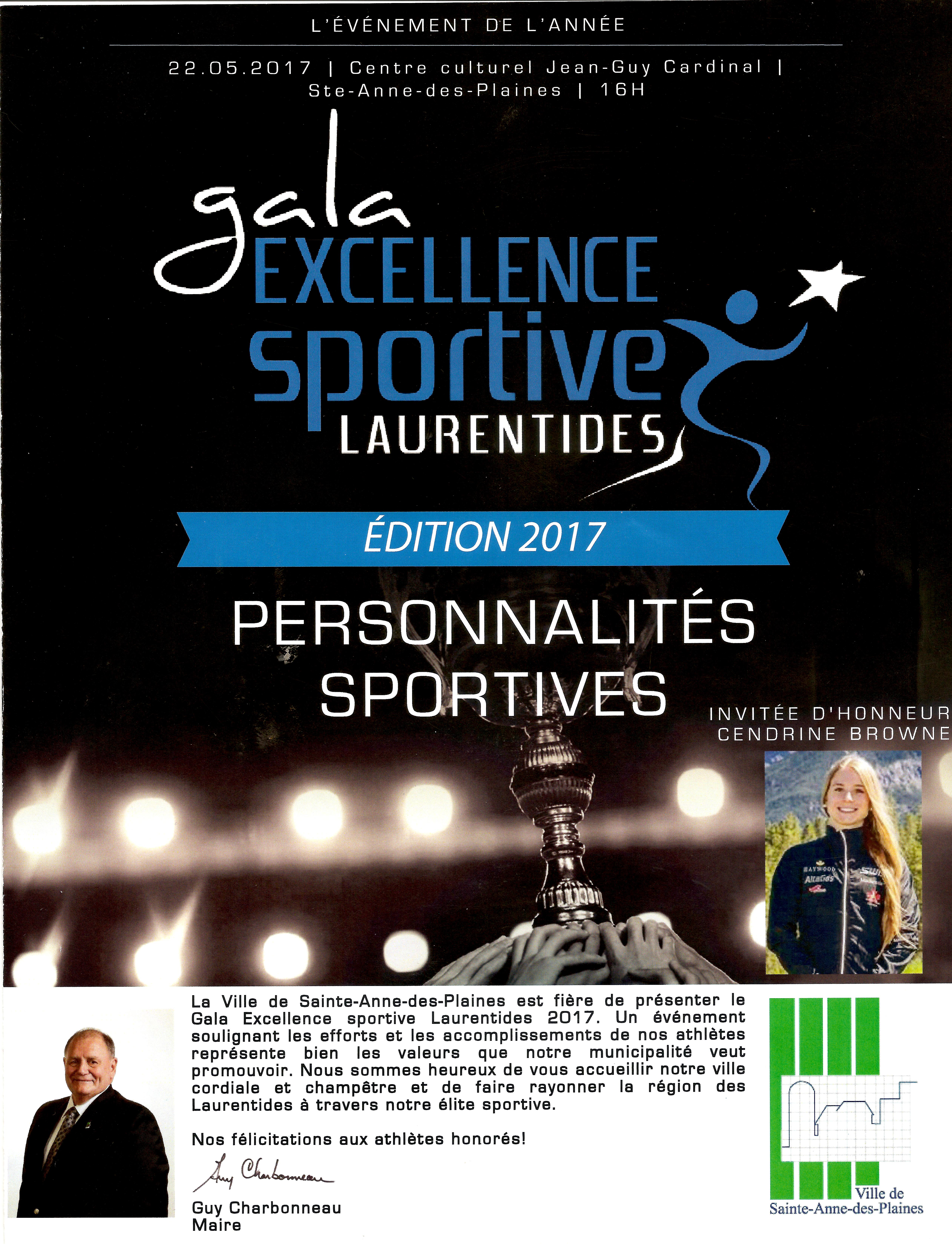 Gala Excellence sportive 2017